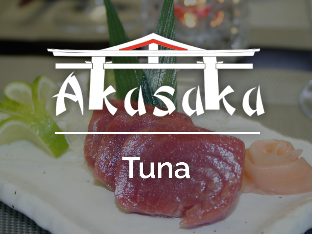 Have you tried our delicious Tuna Sashimi?