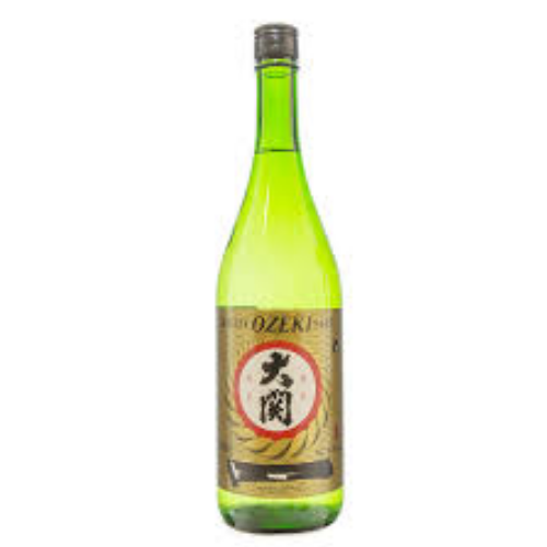 Ozeki Premium Junmai 14.5% (Hot or Cold)