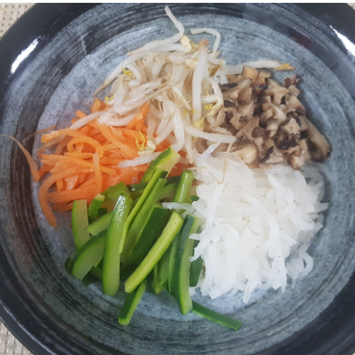 Korean Bibimbab(No Egg)