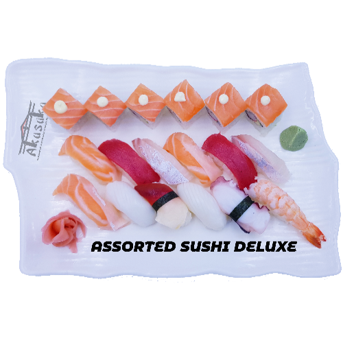 Assorted sushi Deluxe