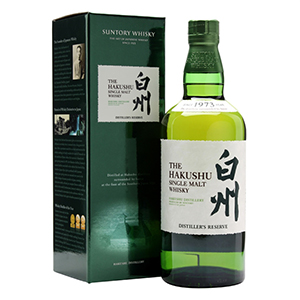 The Hakushu Suntory Whisky